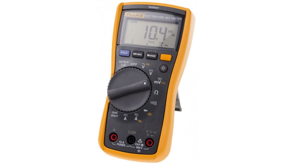 Fluke 117 Electricians Digital Multimeter with Non-Contact Voltage